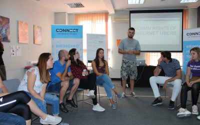 UpDatAed Training for Peer Advisors held in Belgrade