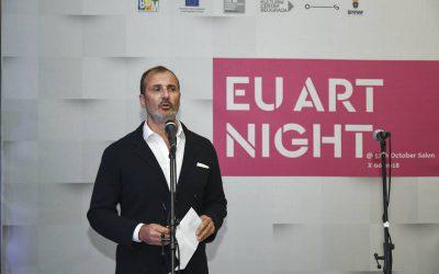 EU Art Night held in the the Museum of the City of Belgrade
