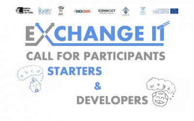 CALL FOR PARTICIPANTS – Starters & Developers Training