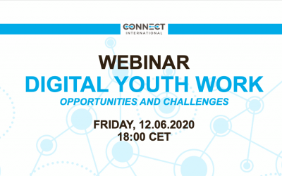 "Call for Participation – Webinar ""Digital Youth Work"" (12.06.2020, 18:00 CET)"