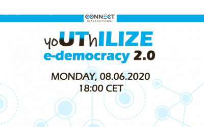 "Call for Participation – Webinar ""yoUThILIZE e-democracy"" (08.06.2020, 18:00 CET)"