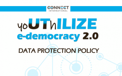 DATA PROTECTION POLICY – Youthilize 2.0 Webinar