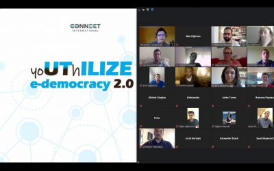 "Webinar ""yoUThILIZE e-democracy"" implemented on the ZOOM platform"