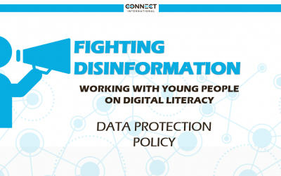 """DATA PROTECTION POLICY –  Webinar """"Fighting Disinformation"""""""