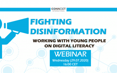 """Call for Participants – Webinar """"FIGHTING DISINFORMATION""""  (29.07.2020, 16:00 CET)"""