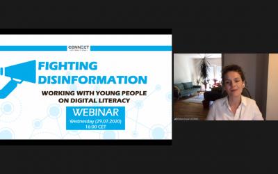 "Webinar ""Fighting Disinformation"" held on July 29, 2020"