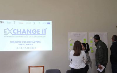 Exchange It Training For Developers implemented in Vršac, Serbia